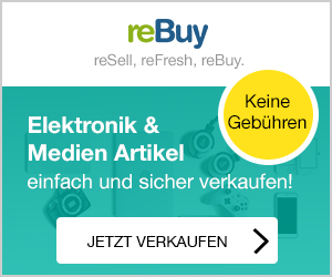 Elektronik und Medien verkaufen mit ReBuy